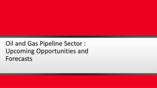 Oil and Gas Pipelines Industry Outlook in North America to 2019 - Capacity and Capital Expenditure Forecasts with Detail