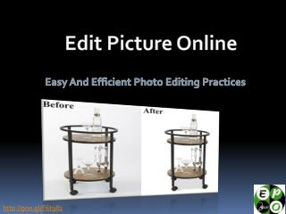 Photo editing service - Edit picture online