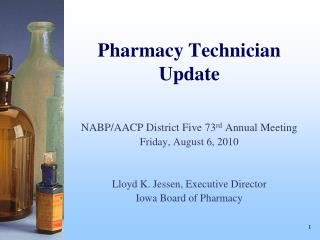 Pharmacy Technician  Update