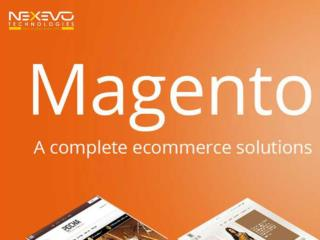 What Is The Major Advantages Magento Platform?
