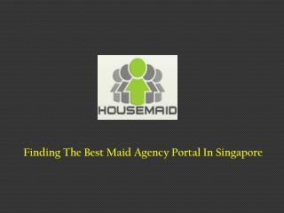 Best Maid Agency Portal