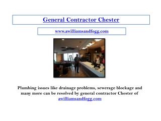 general contractor chester