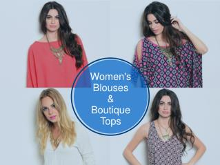 Party Collection of Womens Blouses And Boutique Tops