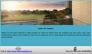 Dwarka Expressway Road Sector 108 | Sobha City Gurgaon