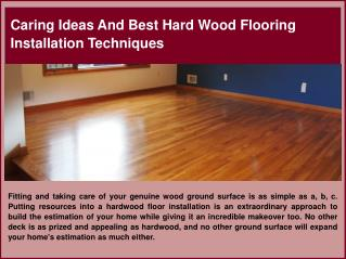 Best Hard Wood Flooring Installation in Salem