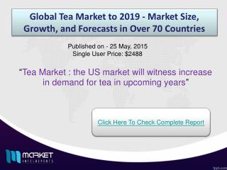 Tea Market : Black tea is imported to India from Kenya due to high use of black tea