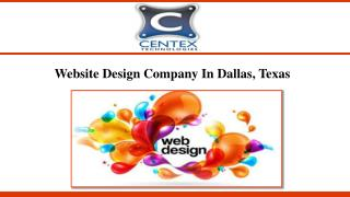 Website Design Company In Dallas, Texas