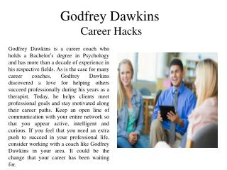 Godfrey Dawkins-Career Hacks