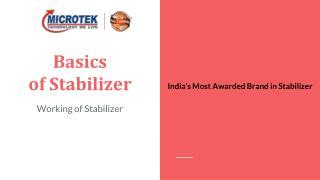 Basis of Voltage Stabilizer