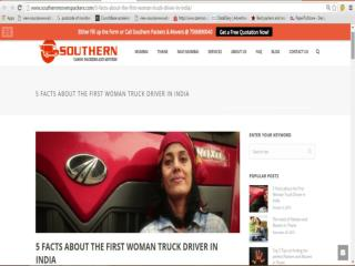 5 Facts about the First Woman Truck Driver in India