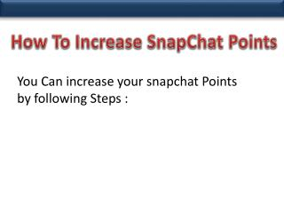 Buy Snapchat Points