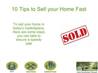 How to Sell Your House Fast - 10 Proven Tips and Ideas