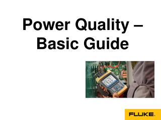Basics of Power Quality