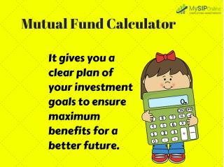 Types of SIP Mutual Fund Calculator