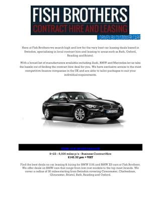 Fish Brothers Contract Hire and Leasing