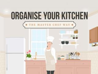 Organise Your Kitchen the Master Chef Way