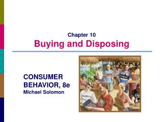 Chapter 10 Buying and Disposing