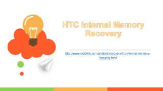 HTC Internal Memory Recovery