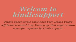 www kindle com support