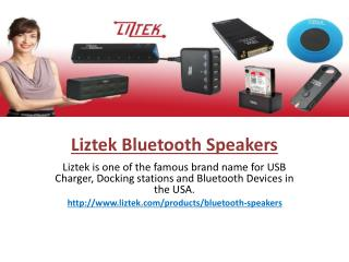 Bluetooth Speakers and Receivers