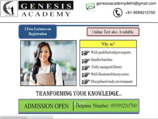 CSIR NET Life Science coaching in Delhi | Biotech entrance exam coaching