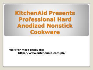 KitchenAid Professional Hard Anodized Nonstick 10-Piece Set