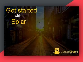 Get Started With Solar