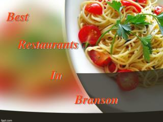 Best Branson Restaurants