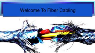 Fiber Cabling Installation & Termination Services