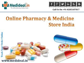 Online Pharmacy and Medicine Store India