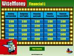 Financial Literacy Jeopardy