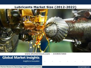 Lubricants market size likely to exceed USD 74 billion by 2022