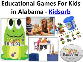 Educational Games For Kids in Alabama - Kidsorb