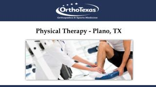 Physical Therapy - Plano, TX