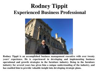 Rodney Tippit Experienced Business Professional