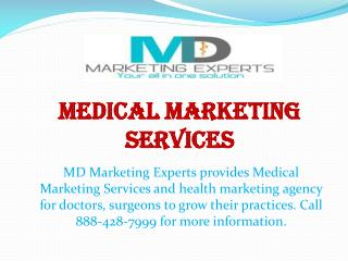 Medical Marketing Services