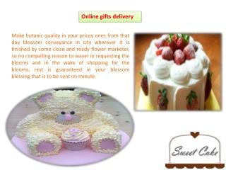 Online gifts delivery for collect happiness