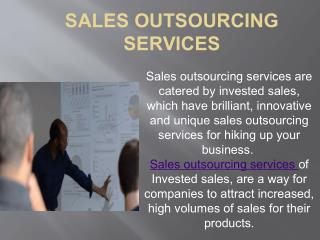 Sales Firms