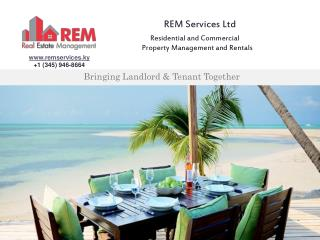 An Independent & Professional Property Management and Rental Company in the Cayman Islands