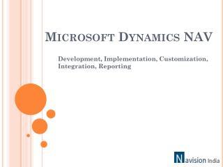 NavisionIndia, Microsoft Dynamics NAV Development Company