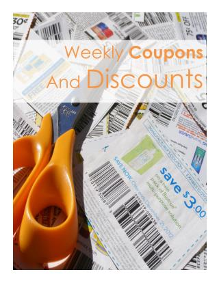 Weekly Coupons & Discounts 2016-05-09