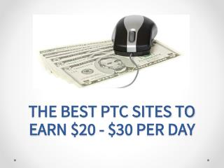 The Best and Most Trusted PTC Sites