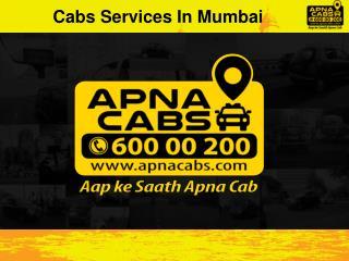 Cabs Services In Mumbai