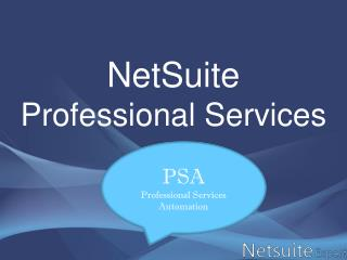 NetSuite professional services,cloud accounting software