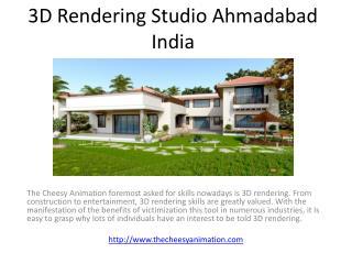 3D Rendering Studio Ahmadabad India