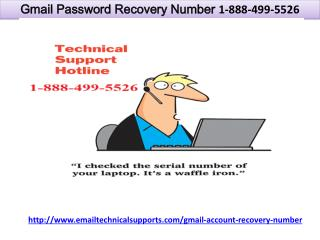 Gmail Password Recovery Number 1-888-499-5526