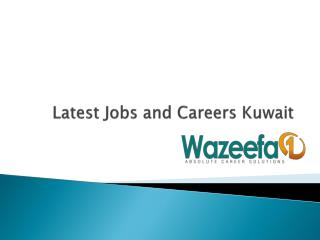 Find Jobs and careers in Kuwait