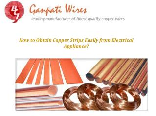 How to Obtain Copper Strips Easily from Electrical Appliance