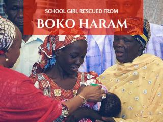 Schoolgirl rescued from Boko Haram