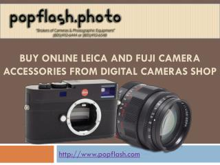 Shop Now Leica and Fuji Camera Accessories